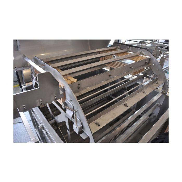 Königin Horizontal honey extractor, 80 frames, frame height: 19-26cm, with frame holder
