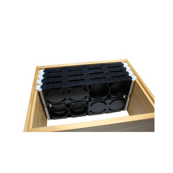 Ross Round Comb Frame - Double Decker Complete Kit