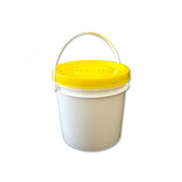 Bucket 4L (5kg) w HD Tamper-Proof Snap-On Lid