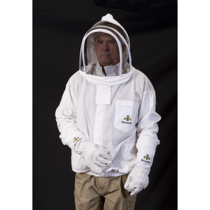 Bee Jacket - Premium Vented Triple Layer with Folding Hood